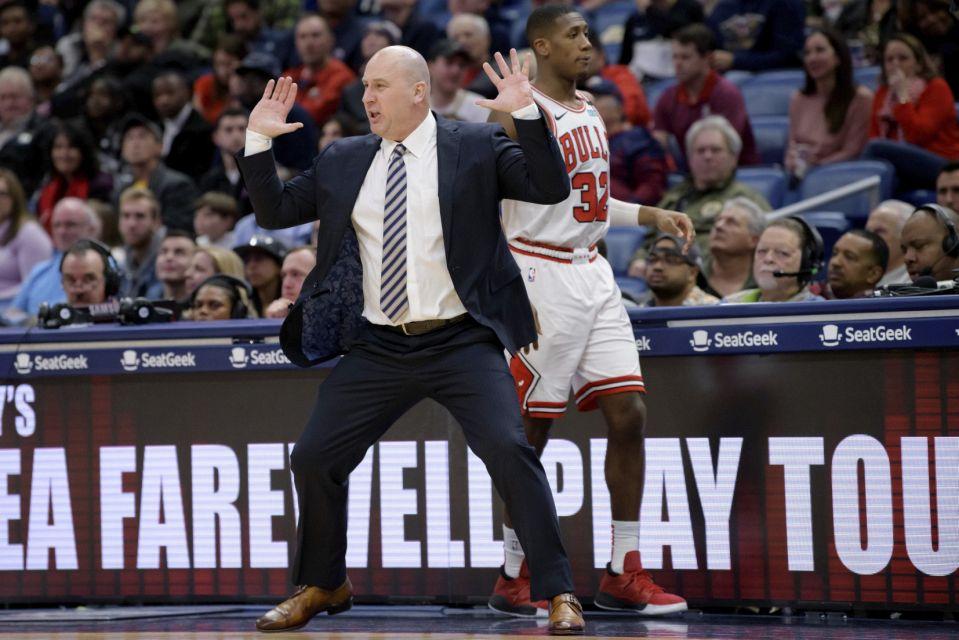 Bulls Boylen Fired  Basketball